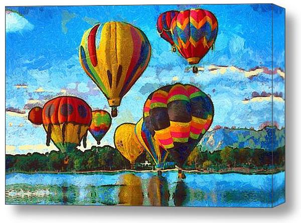 Colorado Springs Hot Air Balloons