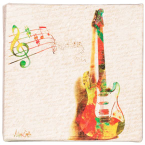 (SOLD) My Guitar SINGS by Nikki Smith for Artists Give Back