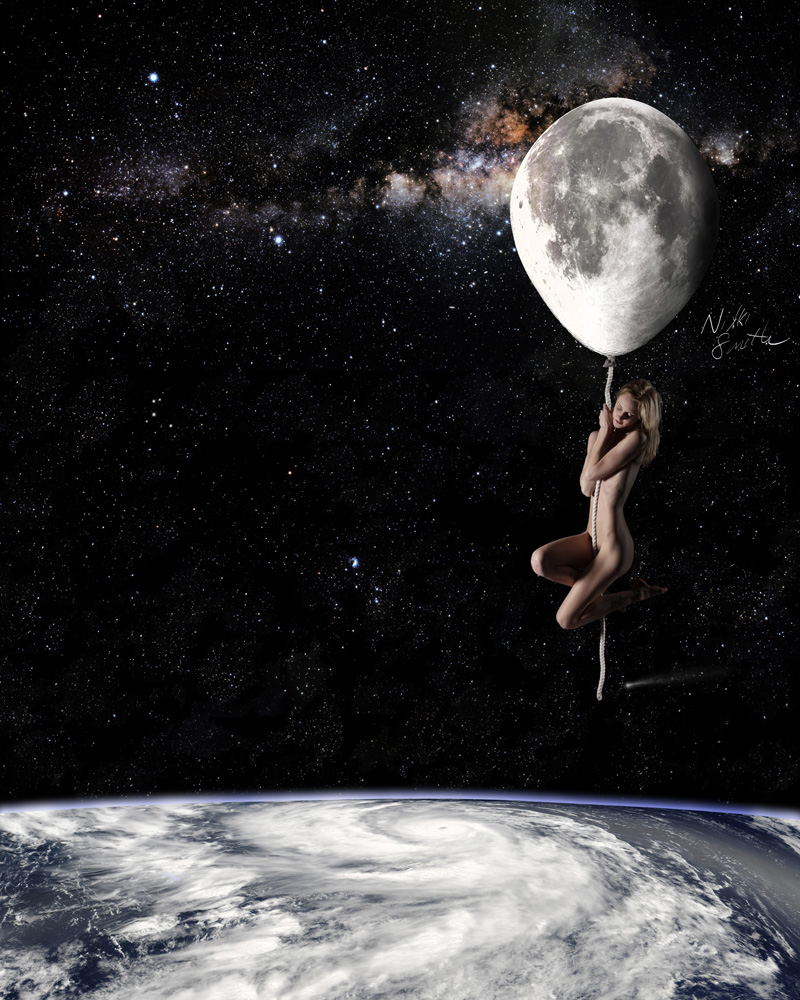 Fly Me to the Moon, copyright Nikki Smith