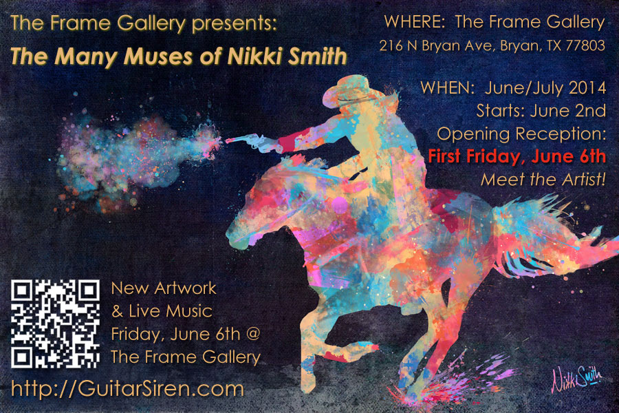 The Many Muses of Nikki Smith, The Frame Gallery, June/July, 2014