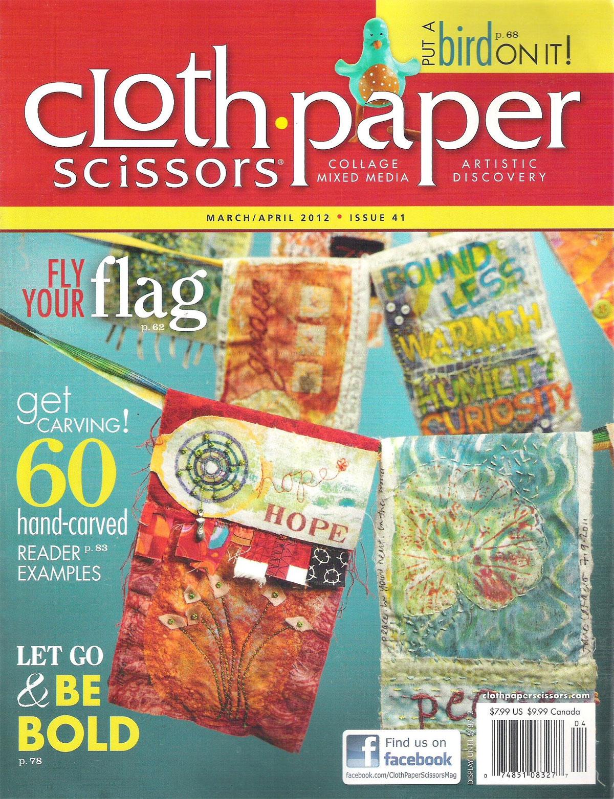 Cloth Paper Scissors, March/April 2012