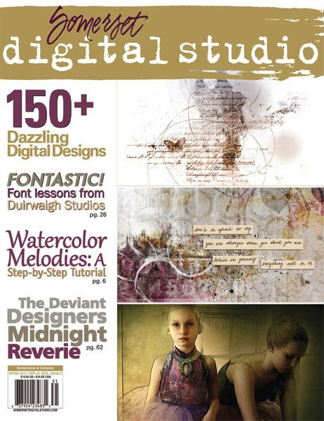 Somerset Digital Studio, Spring 2013 cover