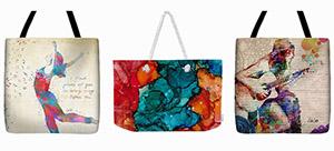 artistic tote bags
