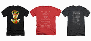 artistic t-shirts and apparel