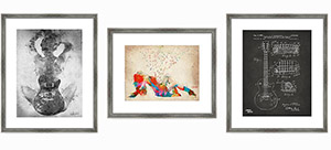 Framed Fine Art Prints - art for music lovers