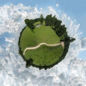 Planet Path, rural Bryan, Texas