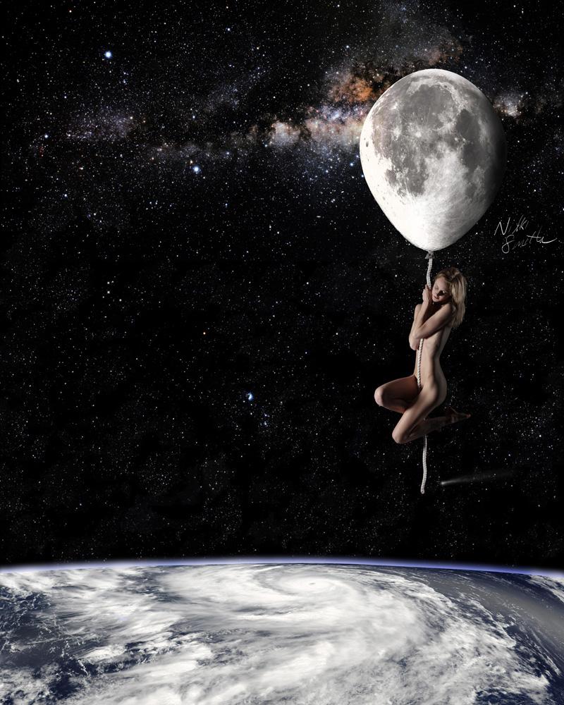 Fly Me to the Moon, copyright Nikki Smith