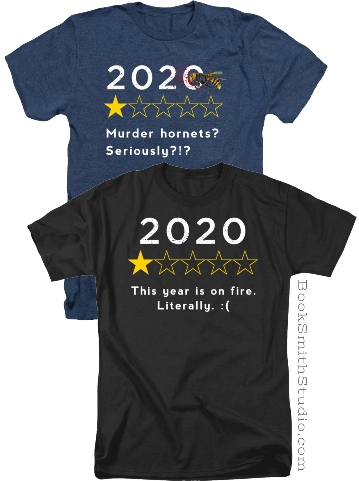 2020 Review t-shirts: Murder hornets? Seriously?