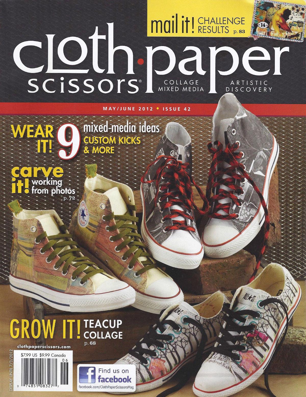 Cloth Paper Scissors, May/June 2012
