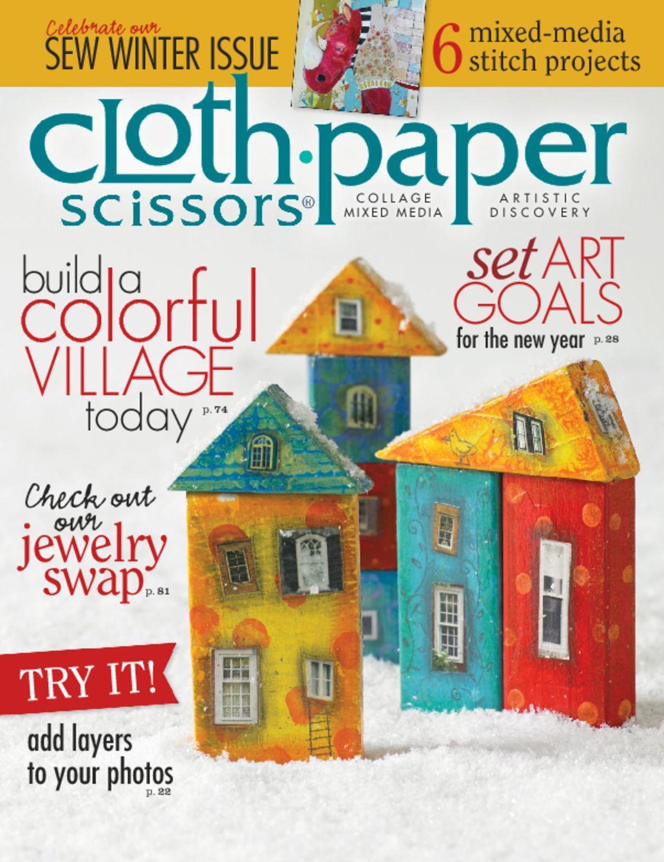 Cloth Paper Scissors, Nov/Dec 2013