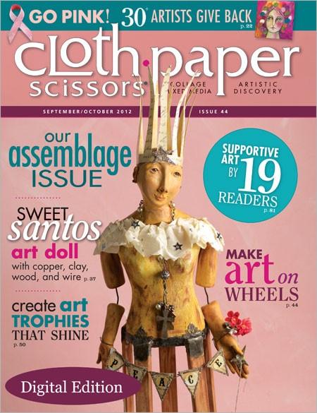 Cloth Paper Scissors, Sept/Oct 2012