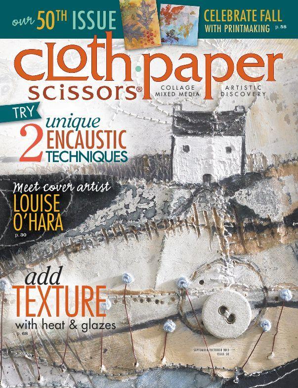Cloth Paper Scissors, Sept/Oct 2013
