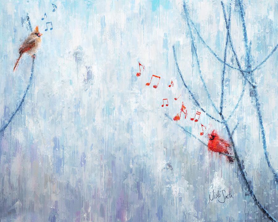 Songbird, copyright Nikki Smith, inspired by Fleetwood Mac