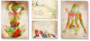 artistic greeting cards
