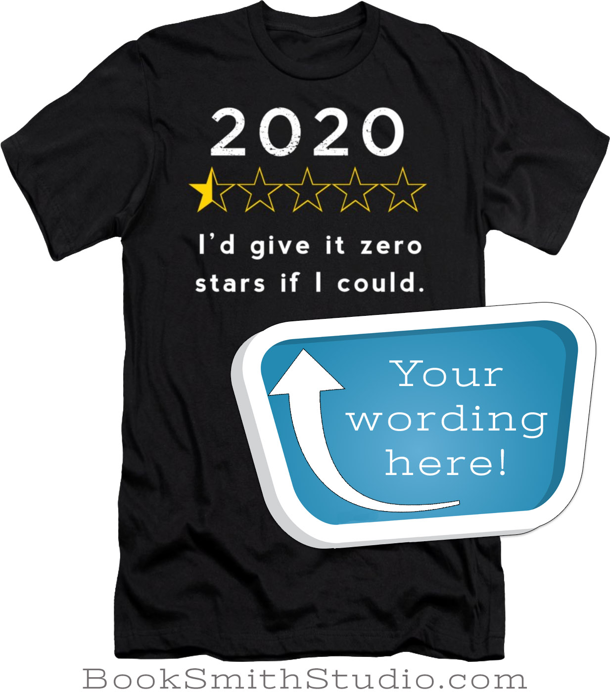 Custom 2020 Review Shirts with your wording!
